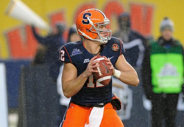 Syracuse QB Nassib Upset Bills Didn't Take Him In Draft