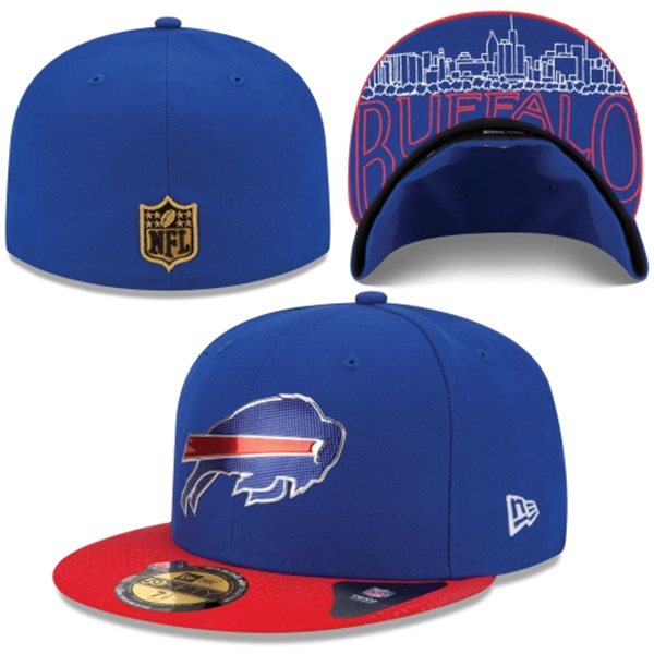 2015 Buffalo Bills Draft Hats